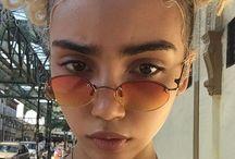 + glasses +