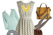 """Style Inspiration / otherwise known as """"apparently I like dresses a lot"""" / by Jacqueline   weelittlestitches"""