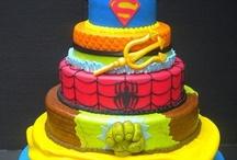 nicks birthday super hero theme / by Emily Hutchinson