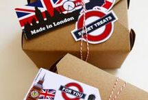 Feiern -England/ London Mottoparty / London Party / DIY Ideen Großbritannien Party, Geburtstagsfeier London, Mottoparty London/England, London Geburtstag