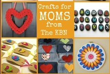 Crafts for Moms to Make from the Kid Blogger Network / The Kid Blogger Network is a group of bloggers committed to providing quality crafts, activities, and learning ideas for kids. But who says moms can't craft, too? This board is your source for crafts, gift ideas, and decorating ideas from the KBN bloggers.  Contributors, pin from your own blog only, please! / by Sarah @ Frugal Fun for Boys