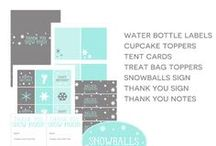 Party Printables / Party Printables