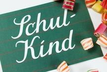 Feiern - Einschulung / First Day of School / Ideen zur Einschulung, DIY Einschulung.  Einschulungsfeier, Schultüten, Füllung Schultüte,