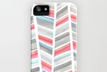 iPhone Cases / iPhone cases designed by Hooray Creative, available on Society6 and Zazzle
