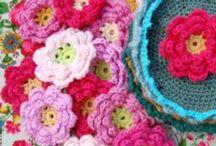 Crochet flowers / by Janette Haddon