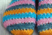 Craft   Knit   Socks / Really so obsessed with knitting socks that they deserve a board of their own.