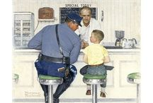 Norman Rockwell / by Michael Petruncola