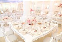 w e d d i n g s / #weddings #westernweddings #whitebride  / by Piril Maria