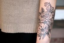 Botanical Tattoos / Because Grace is obsessed with them and wants more...