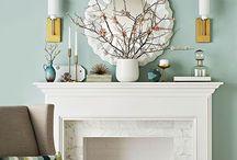 Fireplace Decor & Ideas