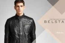 Belstaff - Autumn/Winter 2015 / The new Belstaff collection pays homage to the British café racers and rockers of the 1960's. The spirit and attitude of this style conscious generation of rebellious youth remains the same today at Belstaff with oiled suede riding suits bandanna prints redefining iconic archive pieces for the contemporary man. Fearless and reckless, they lived for the moment, redefining masculinity as they went.