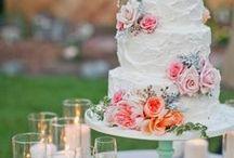 Wedding Cakes & Favor Ideas / Wedding cake inspiration and fun favor ideas!
