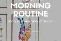 Morning Routine / For a happier morning