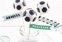 Feiern - Fußball Party / Soccer Party / DIY, Rezepte und Ideen für eine Fußball Party. Fußballfeier, Fußballgeburtstag. DIY, Recipes and Ideas for a Soccer Party