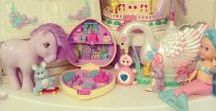 toys / My Little Ponies, Starcastles, Polly Pockets, Skydancers etc.