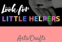 Arts/Crafts / arts and crafts for the home and with children.