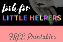 Free Printables / Free printables from various blogs.  Please come to my blog for free gratitude journal, gratitude scavenger hunt, printable thank you cards for kids, and a random acts of kindness calendar!