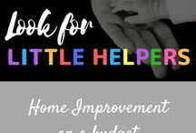 Home Improvement on a Budget / My blog is about kindness, gratitude, community service, and diversity with children.  I also write in general about parenting.  This board is for home improvement ideas on a budget