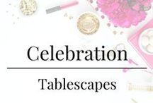 Celebration - Tablescapes / Amazing tabletop design