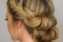 Hair and Make-Up / Hair tutorials, hair inspiration, beauty tutorials, beauty tips, hair, hair ideas