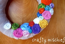 Crafty Mischief Stuff / My crafty goodness! / by Brittany Burton Wilkinson