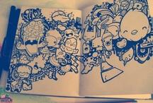Sketch/Doodle / #sketch #illustration #doodle #croquis #moleskine
