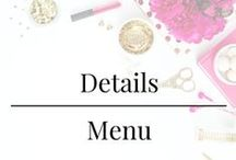 Details - Menu