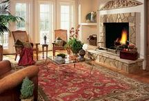 Area Rugs / Area rug are all about versatility - Have your pick of sizes, shapes, colors and textures! Choose one that works for any space in your home.  See our full selection of area rugs online: http://www.rusmurfloors.com/products/arearugs.php