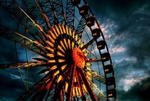 Amusement Parks <3 / Roller Coasters, Carousels,Theme Parks, Carnivals. Circus etc.  / by Emily Hollingsworth