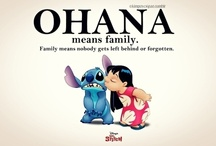 'Ohana means family.. / and family means nobody gets left behind. Or forgotten. / by Emily Hollingsworth