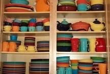 Of all my collections, Fiesta is my favorite. / by Kelly Teresko