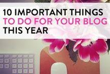 DIY & and Blogging / DIY ideas, blogging tips, blogging resources, blogging