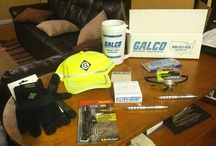 Galco Giveaway Contest Winners! / A few photos of our past Galco Giveaway Prize Pack winners and their Goodies! / by Galco Industrial Electronics