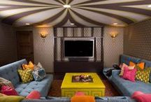 Family Room, Rec Room and Man Cave / Decorating inspiration for your family room, rec room or man cave!