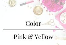 Color - Pink and Yellow