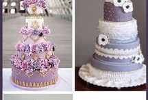 purple / purple theme wedding