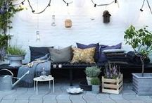 outdoor rooms / inspiration to create a beautiful outdoor space