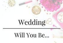 Wedding - Will You Be My Bridesmaid/Groomsman