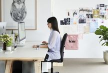 workspaces / if you have to work at home, you need an inspiring and calming space x