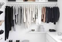 storage / ideas - big and small - for keeping clutter under control x
