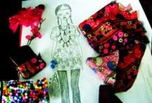 AMG Doll fashion sketches / This album is dedicated to all doll fashion sketches that doll designer & maker, Marie Georghy Jacob previously did between the year of 2013 and 2015.