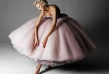 Fairytale Fashion / Magical photo shoots and fashion editorials with layers of tulle and magnificent models.