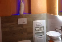 Bathroom in the wall products (recessed) / Recessed products or in the wall products for bathroom area