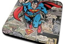 DC Comics / You may be a fan of Detective Comics, but you will not have to look very far or hard for the best the DC Universe has to offer for merchandise! Whether it's the Dark Knight Batman, or Superman from Krypton, Wonder Woman from Themyscira, or even Harley Quinn from Arkham we've got it all, from bathrobes to slippers and beyond!