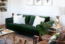 Eclectic Living Room / Interior Design - Ideas and inspiration for an eclectic living room.