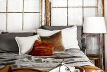 Eclectic Bedroom / Home decor inspiration for an eclectic bedroom. One of a kind bedroom ideas for the individual.