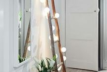 String, Festoon & Fairy Lights / Ideas on what to do with fairy lights, festoon lighting, string lights. All things that glow and twinkle. Pretty lights and inspiration on how to beautify the home.