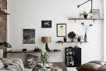 Scandinavian Chic / Inspiration on how to capture the essence of scandinavian interior design. Scandi chic ideas for the eclectic home.