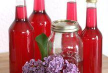 Przetwory z owoców, kwiatów i ziół