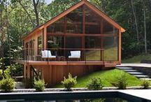 MODERN HOUSE IN WOOD / Des Maisons Contemporaines en Bois.